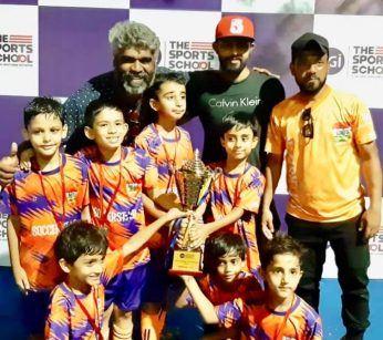 JGI SPORTS U8 WINNERS 2019