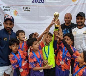 MUMBAI FOOTBALL CHAMPIONSHIP U8 RUNNERS UP 2020